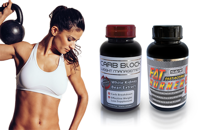 Carb Block + Fat Burner For R249 incl Delivery