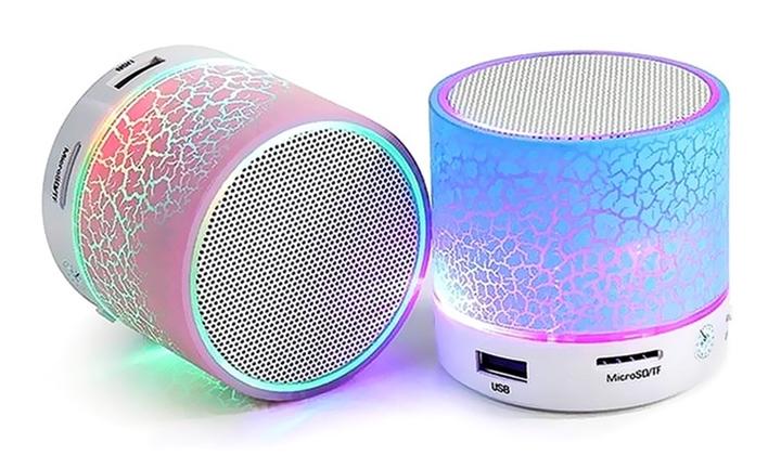 Mini Portable Bluetooth LED Speaker for R199