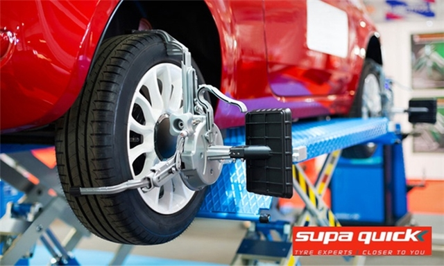 Wheel Alignment for One Car from R89 & Optional Services at Supa Quick Germiston