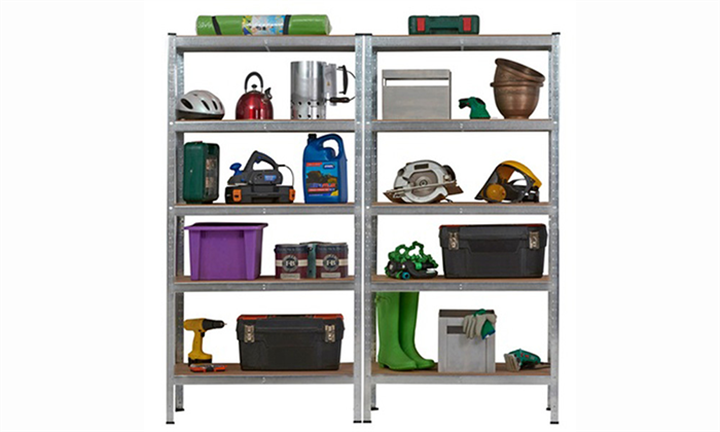 Heavy Duty 5 Tier Storage Shelf Unit For R1799 incl Delivery