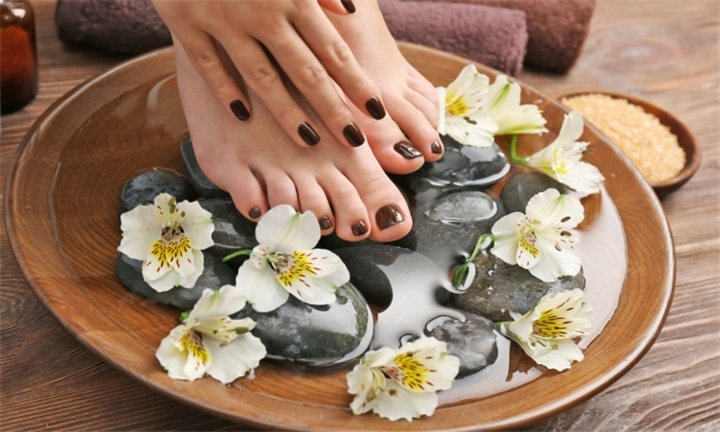 Spa Manicure or Pedicure from R89 at Chique Wellness Spa