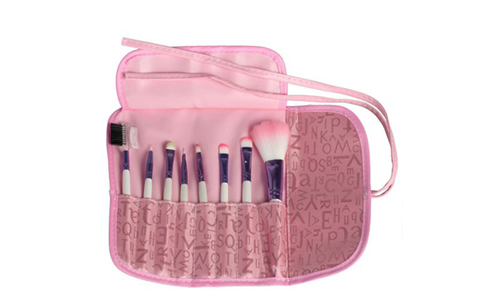 Igia Make-Up Brush Set with Pink Travel Pouch For R249 incl Delivery