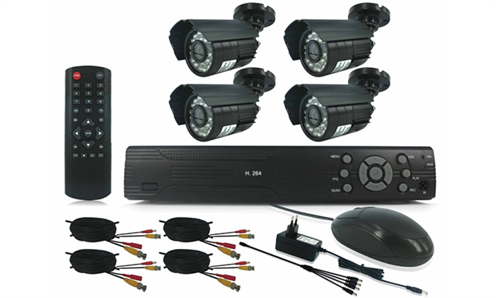 HDMI DIY CCTV Kit With Internet & 3G Phone Viewing from R1599 incl Delivery