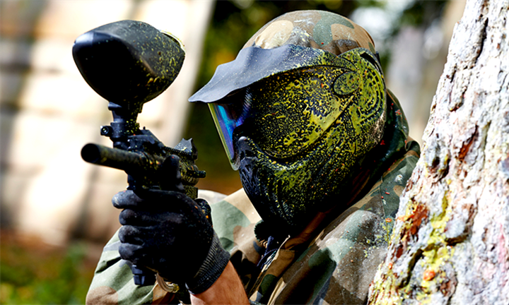PAINTBALL: Outdoor Paint Balling from R149 with DNA Paintball