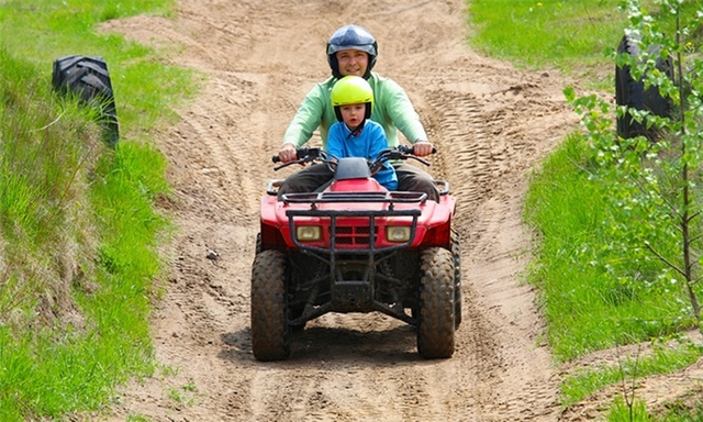 Quad Biking Experience from R250 at Earth Adventures
