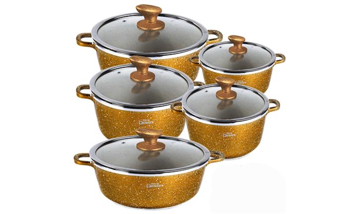 Nice Dessini 10pc Granite Cookware Sets For R1299 incl Delivery
