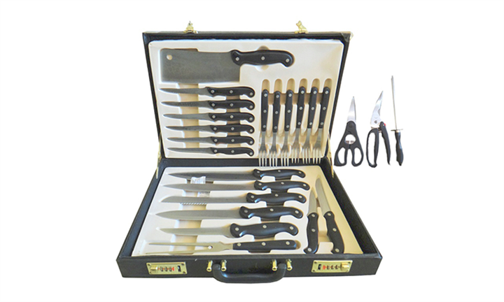 24-Piece Chefs Steak Knife and Fork Set for R449