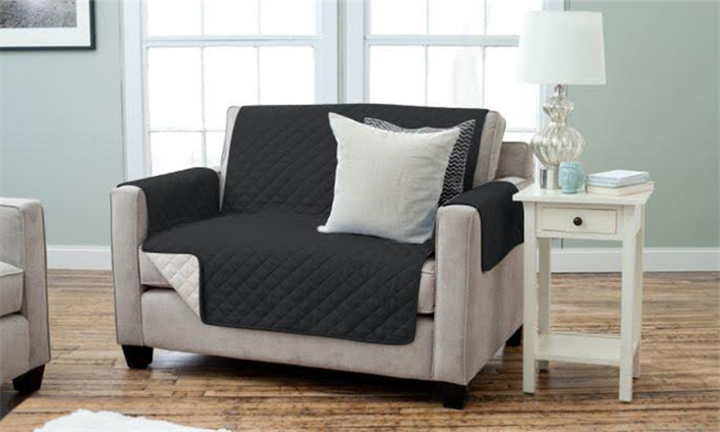 Stain-Resistant Reversible Slipcover For R499 Incl Delivery