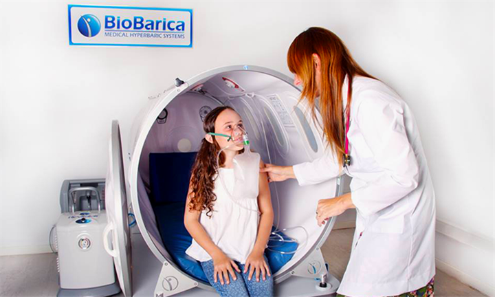 One 60-Minute Mild Hyperbaric Oxygenation Session from R199 for One at BioBarica