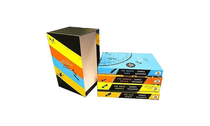 Maze Runner Series Box Set For R299 incl Delivery