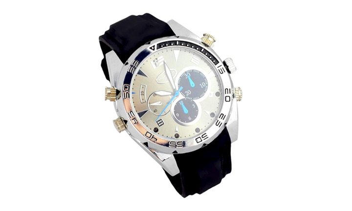 8GB HD 1080P Waterproof Spy Watch for R529 incl Delivery