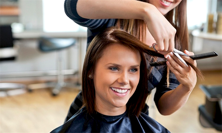 R149 for a Wash, Cut and Blow Wave for One with Optional Colour Treatments at Elite Hair