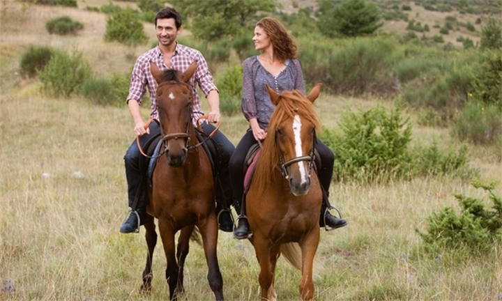 1.5 Hour Fynbos Outride with Chocolates and Bubbly from R550 at Equestrian Centre Overstrand