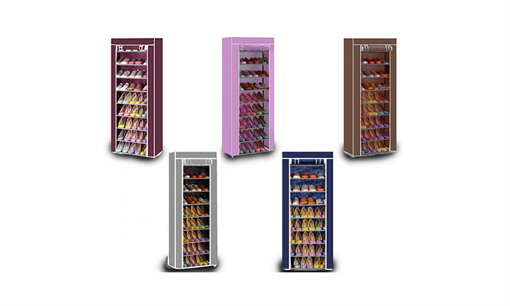 Nine-Tier Shoe Storage Rack For R219