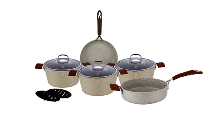 Berlinger Haus 10-Piece Marble Coating Oven Safe Stone Touch Cookware Set for R1899 incl Delivery