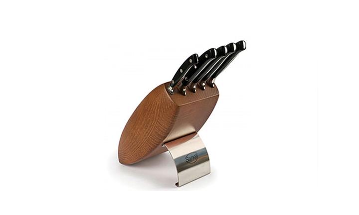 Sanelli Ergoforge 5-Piece Knife Block for R2999