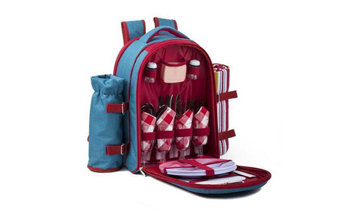 Deluxe Backpack Cooler with Blanket For R729 incl Delivery