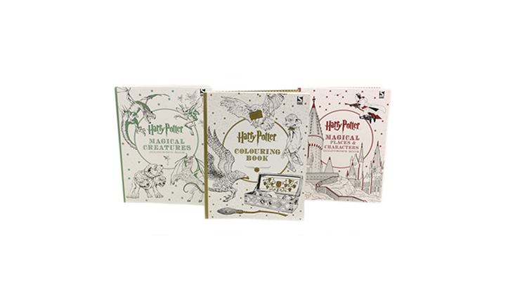 Harry Potter 3 Book Adult Colouring Collection for R299 incl Delivery