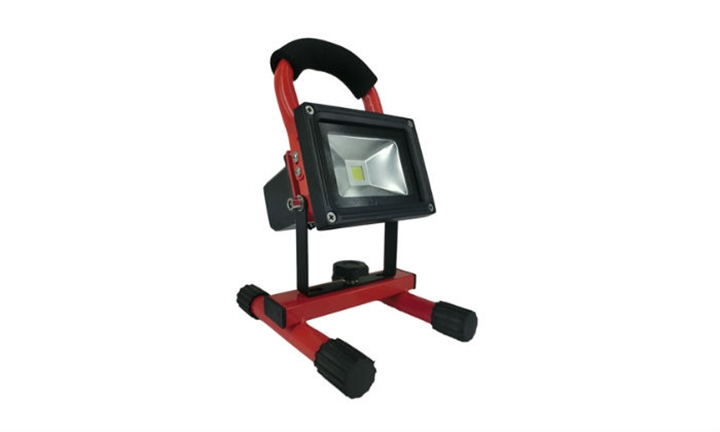 Rechargable LED Floodlights with Stands from R379 incl Delivery