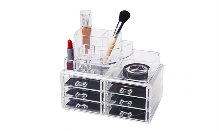 6 Draw with Accessory Cosmetic Display for R299 incl Delivery