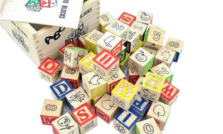 Educational Wooden ABC Blocks from R109