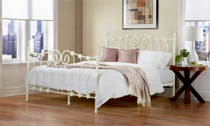 Amelia Steel Bed Base from R2499 incl Delivery