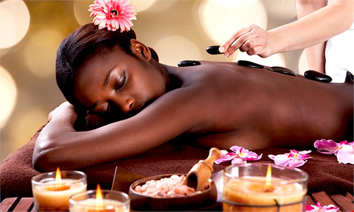 Sandton: 60-Minutes Hot Stone Massage for One or Two at Euel Beauty Lounge from R139