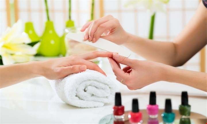 Express Mani and Pedi with Gel Overlays From R99 at Kneaded Escape Beauty Bar