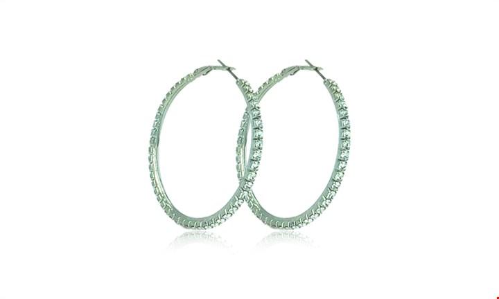 Crystal Loop Earrings for R269 incl Delivery