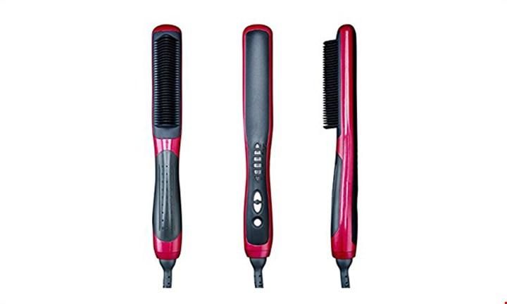Electric Ceramic Heating Hair Straightener Brush for R299