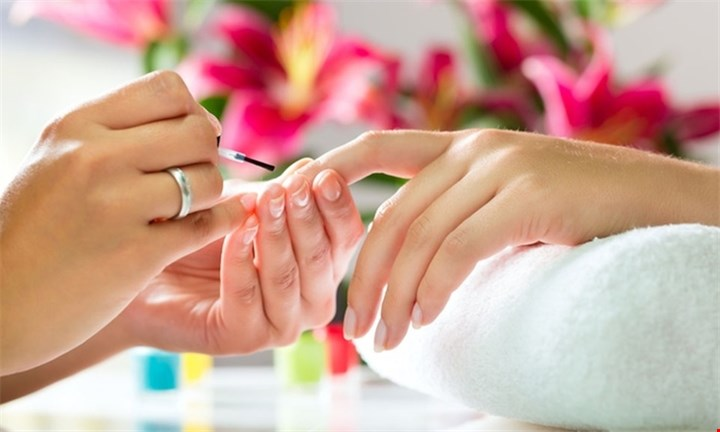 Deluxe Manicure or Pedicure from R99 at The Beauty Den