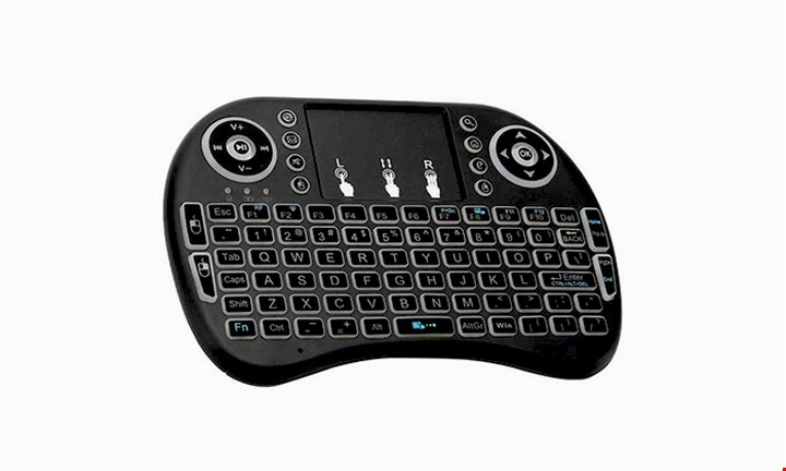 i8 Backlit Mini Wireless Keyboard for R349 incl Delivery