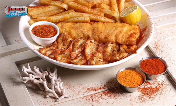 R149 for a Pacific Meal for Two @ Jimmys killer Fish and Chips Alberton Crossing