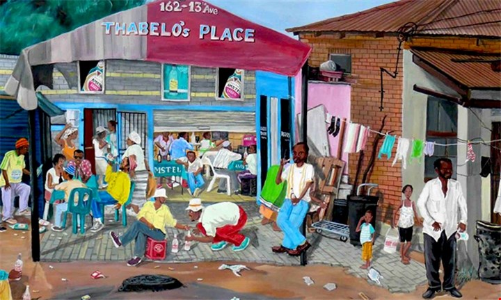 Half/Full Day Tour for 2/4 People with Maboneng Township Arts Experience