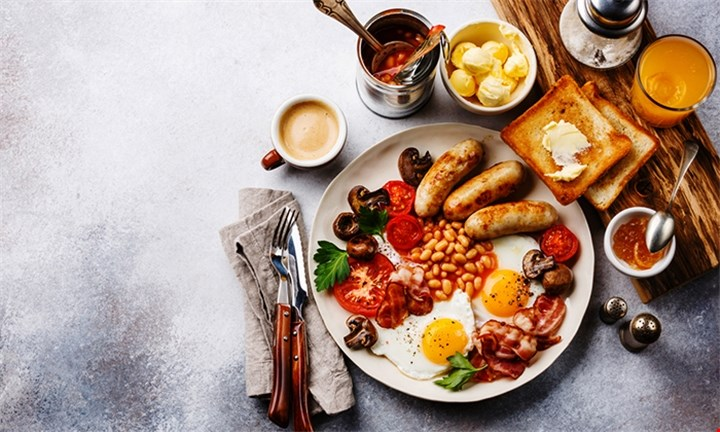Full House Breakfast including choice of Beverage or Sparkling Mimosa For Two for R149 at Harissa Bistro