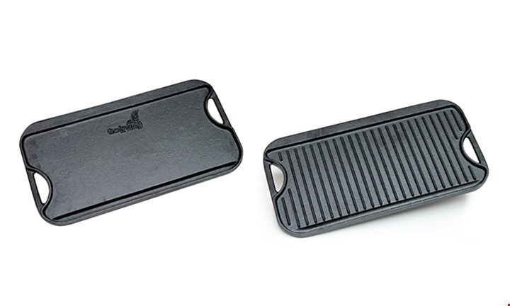 Fine Living Cast Iron Griddle Pan for R399 incl Delivery