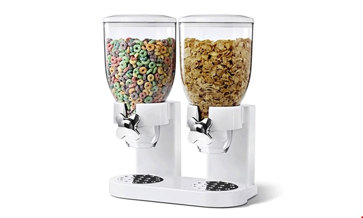 Double Cereal Dispenser for R499 incl Delivery