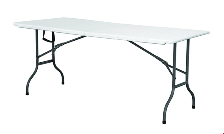 White Folding Trestle Table for R749 incl Delivery