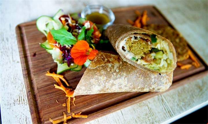 Full Wrap or Sandwich and Glass of Freshly Squeezed Juice from R100 at Conscious Café