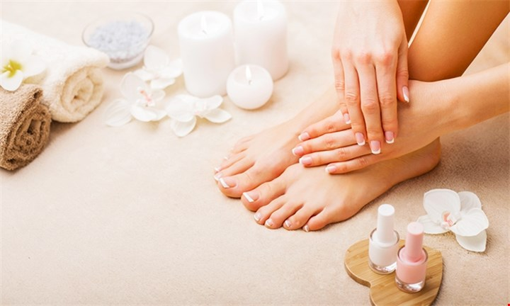 Choice of Mani + Pedi and/or Full Body Massage from R215 per person with DMK Beauty Clinic
