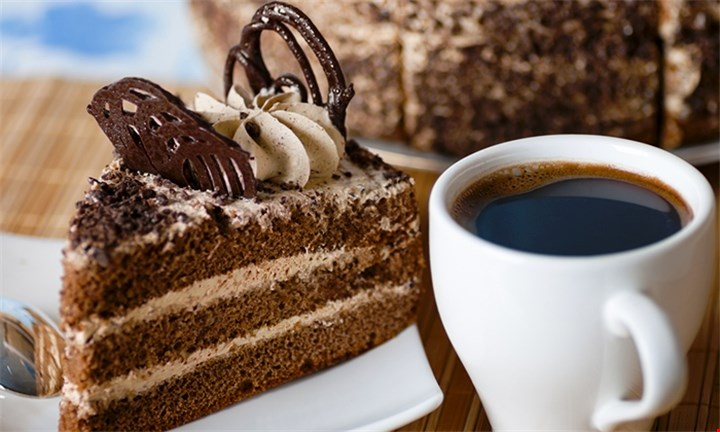Coffee and any Choice of Slice of Cake for up to Four.