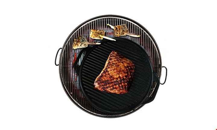 Fine Living Cast Iron BBQ Grill Tray for R549 incl Delivery