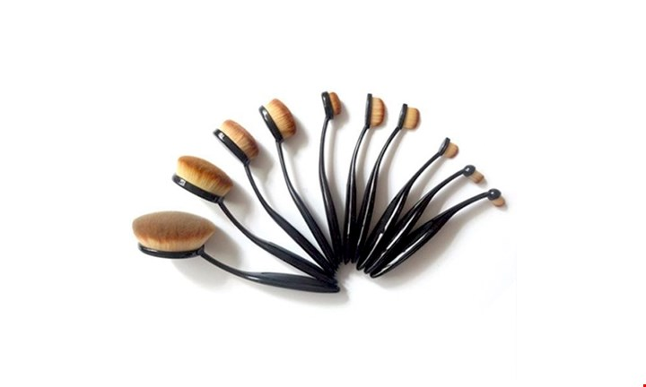 Exclusive 10 Piece Make Up Brush Set for R399 incl Delivery