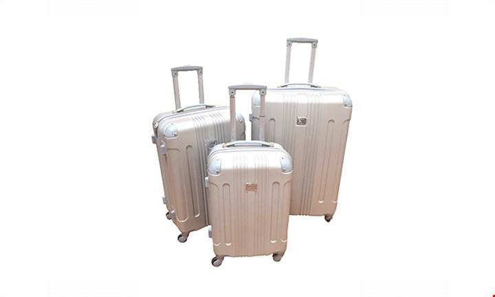 Three-Piece Travel Trolley ABS Luggage Set for R1599