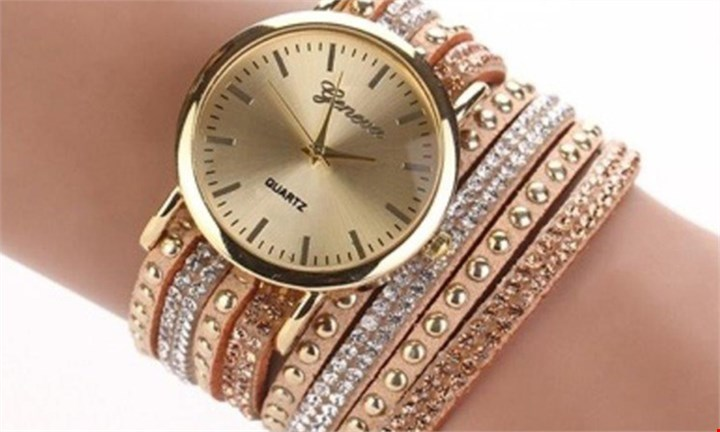 Geneva Wrap Around Faux Suede Watch For R229 incl Delivery