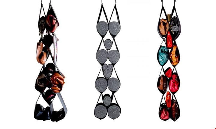Buy 1 get 1 Free - Hanging Closet Organizer for R249 incl Delivery
