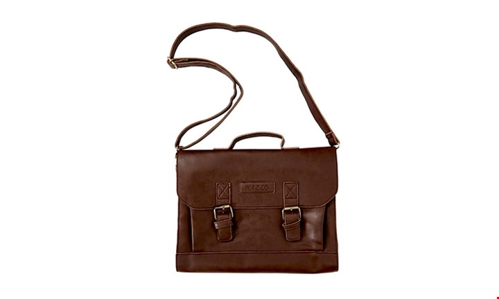 Hazlo PU Leather Laptop Briefcase Carry Bag for R299