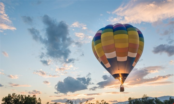Hot Air Balloon Flight with Breakfast and Sparkling Wine for R1899 per person with Air to Air Africa