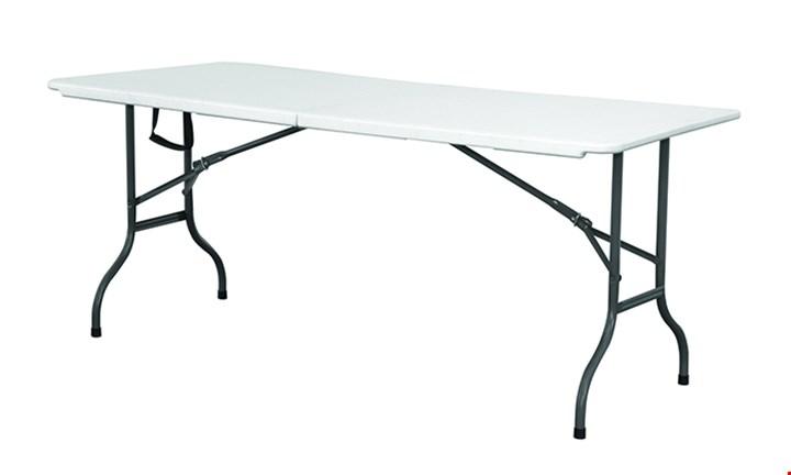 White Folding Trestle Table for R599
