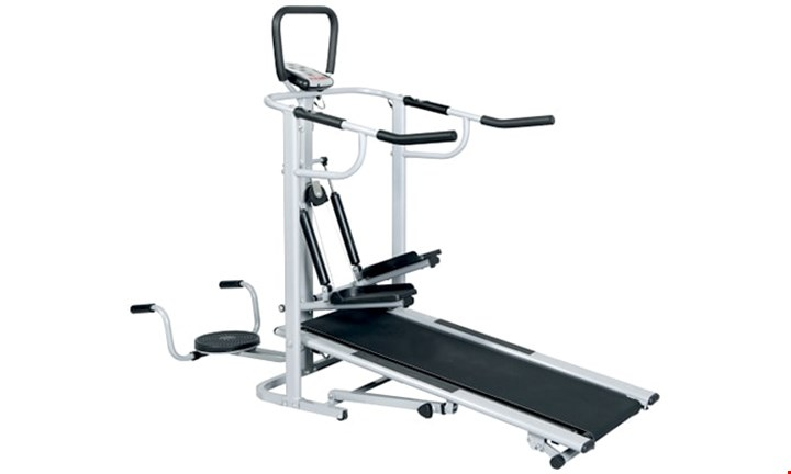 ZoolPro Treadmill with Scan, Time, Speed, Distance, Pulse & Calorie Function for R2499